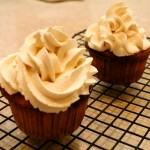 Just Two Vanilla Cupcakes (Paleo, Gluten-Free)