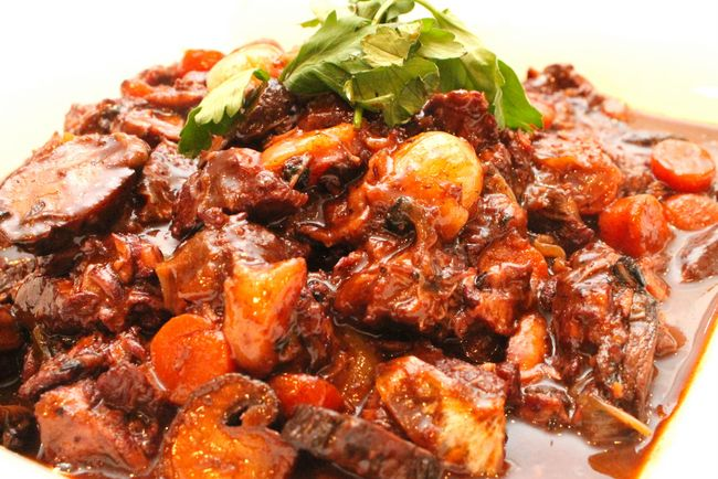 Julia Child's Beef Bourguignon (Paleo, Gluten Free)