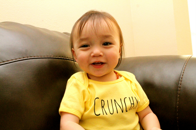 Crunchy Baby loves RebHellian Tees