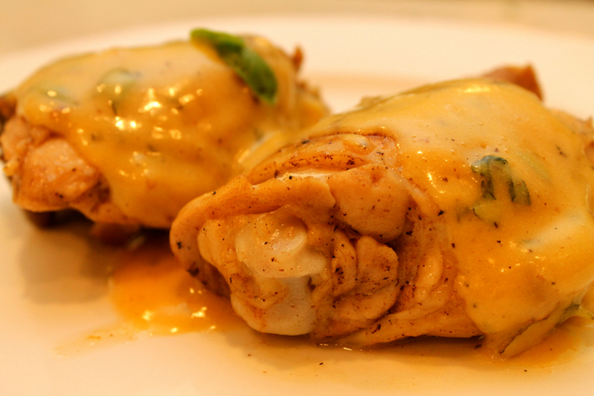 Sauteed Chicken with Hollandaise