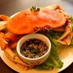Chinese Steamed Crab (Paleo, Gluten Free)