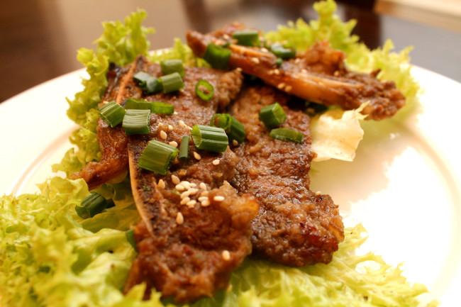 Korean BBQ Ribs/ Kalbi/ Galbi (Paleo, Gluten Free)