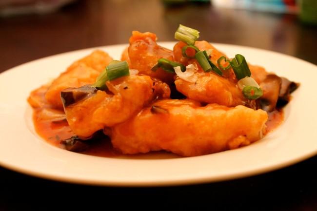 Chinese Fish in Tomato Sauce (Paleo, Gluten Free)