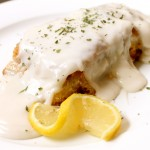 Coconut Crusted Mahi Mahi Fillets topped with a Coconut Cream Sauce (Paleo, Gluten Free, Dairy Free)
