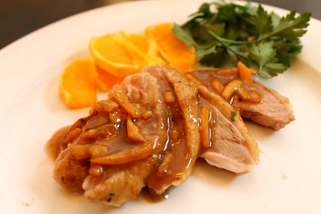 Roast Duck with Orange Sauce/Canard à l'Orange (Paleo/Primal, Gluten Free)