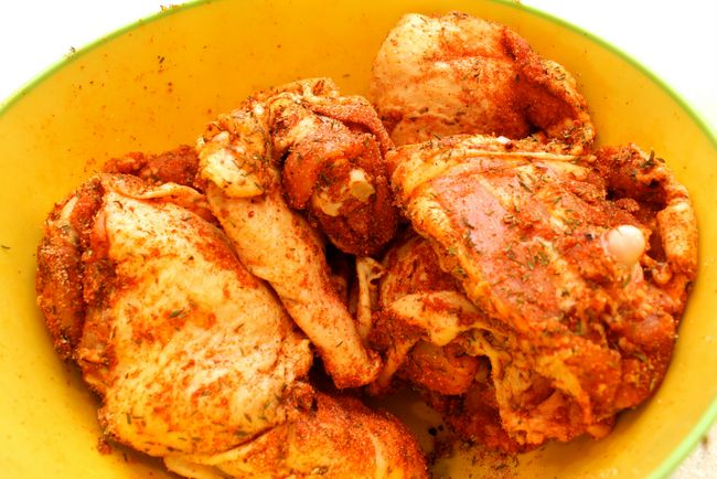 Easiest Herbed Chicken Recipe Ever (paleo, gluten free, dairy free)