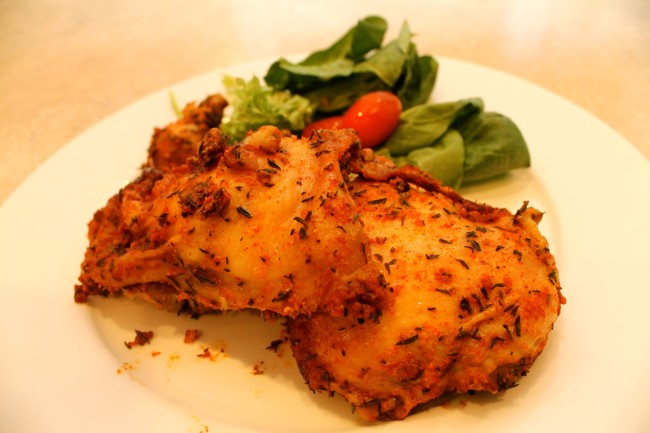 The Easiest Herbed Chicken Recipe Ever (Paleo, Gluten Free, Dairy Free)